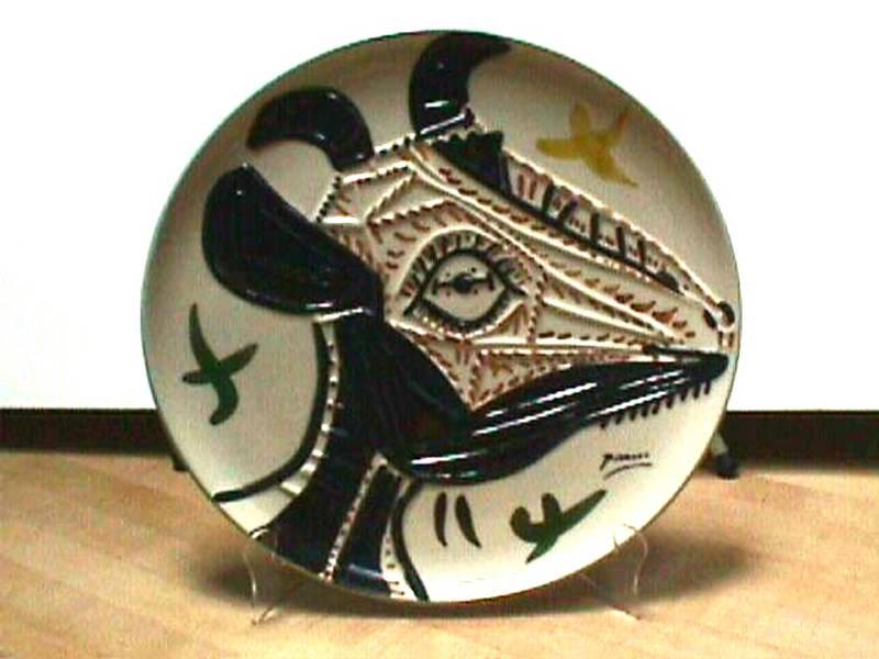 Picasso Ceramic Plate #1