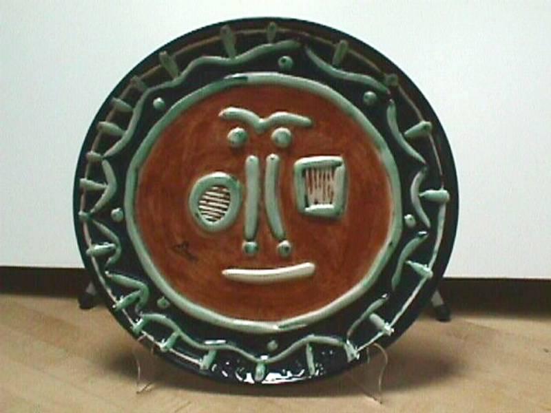 Picasso Ceramic Plate #2