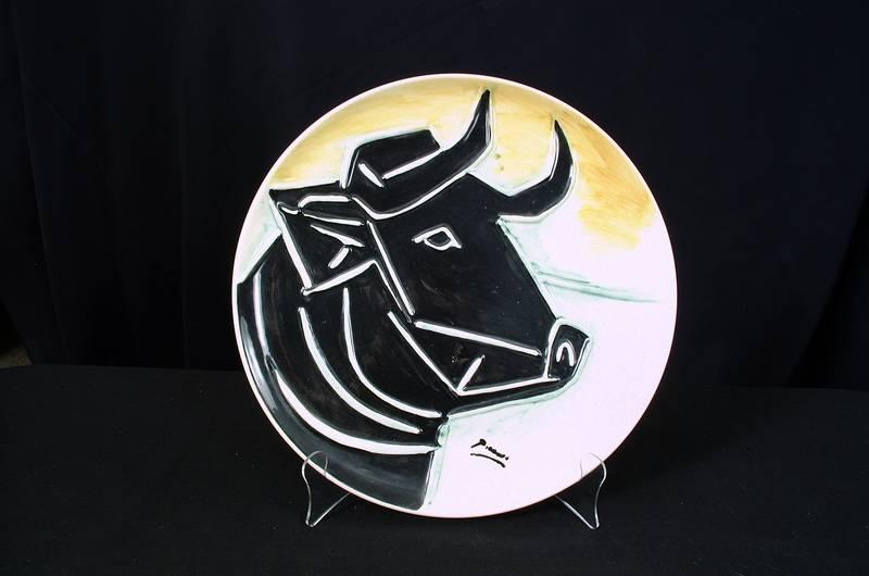 Picasso Ceramic Plate #3