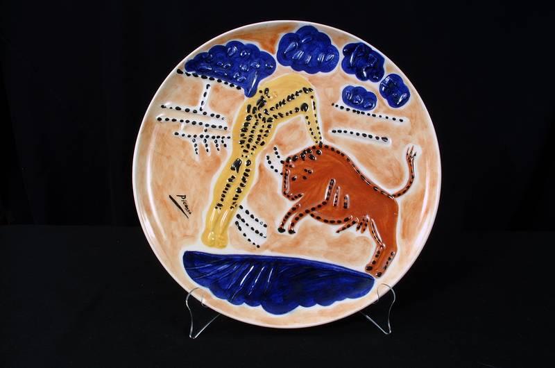 Picasso Ceramic Plate #7