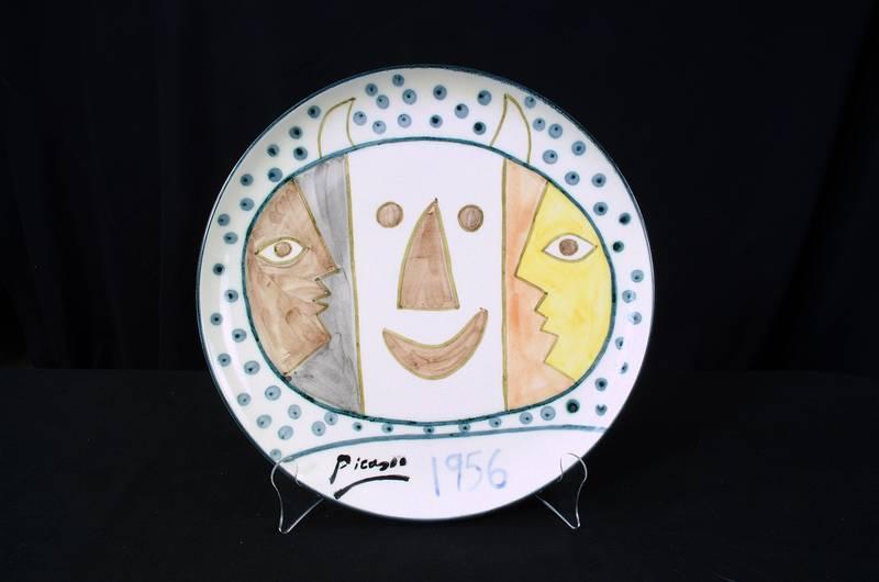 Picasso Ceramic Plate #11