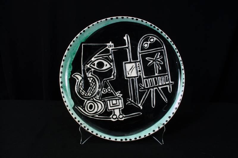 Picasso Ceramic Plate #10
