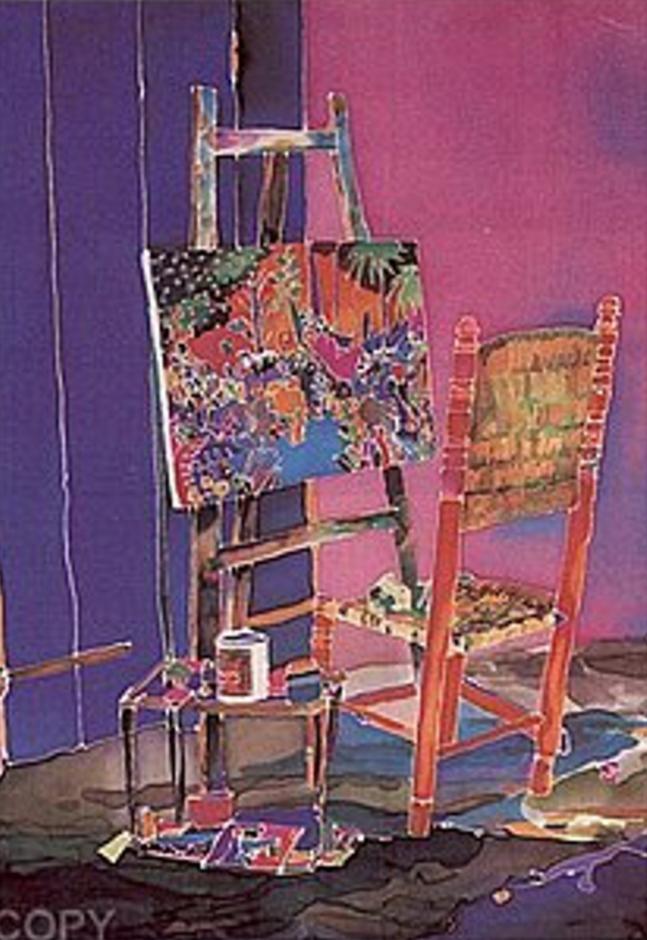 Canvas & Easel