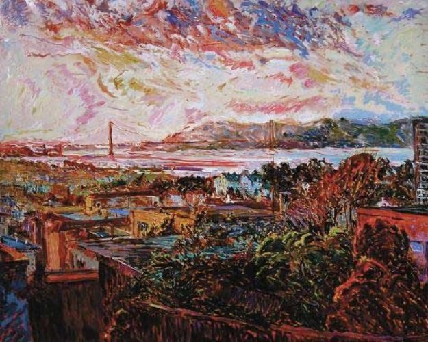 San Francisco Marina At Dusk